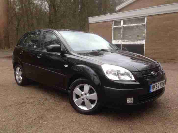 2008-57-KIA RIO 1.4 16v LS 5DOOR HATCHBACK 74,000 MILES FSH ONLY 1OWNER FROM NEW