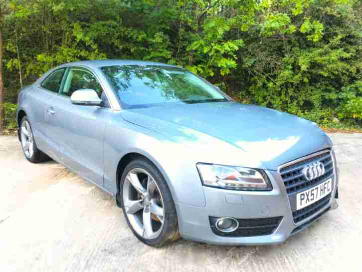 2008 57 REG AUDI A5 2.7 V6 TDi AUTO SPORTS COUPE DAMAGED REPAIRABLE SALVAGE