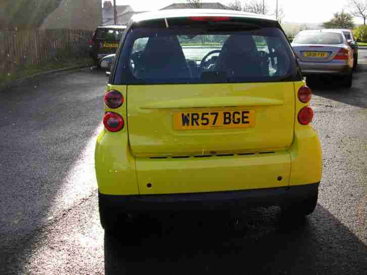 2008 (57) Smart fortwo 1.0 ( 71bhp ) Passion