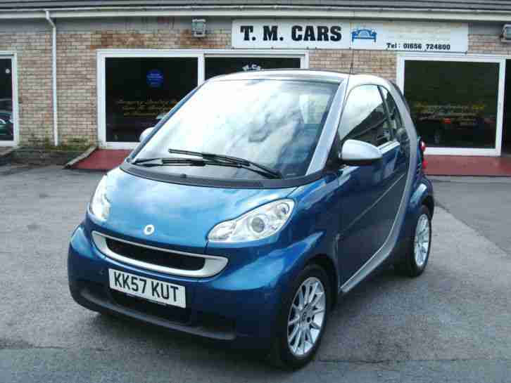 2008 57 fortwo 1.0 ( 71bhp ) Passion 2d