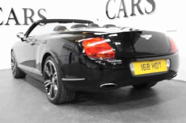 2008 58 BENTLEY CONTINENTAL 6.0 GTC 2D AUTO 550 BHP