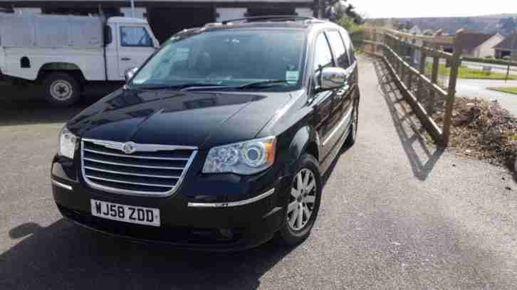 2008 58 CHRYSLER GRAND VOYAGER 2.8 CRD LIMITED 5DR AUTO DIESEL