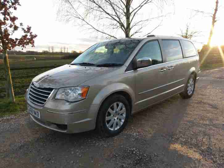 2008 (58) CHRYSLER GRAND VOYAGER LTD LIMITED CRD 160 DIESEL AUTO AUTOMATIC GOLD