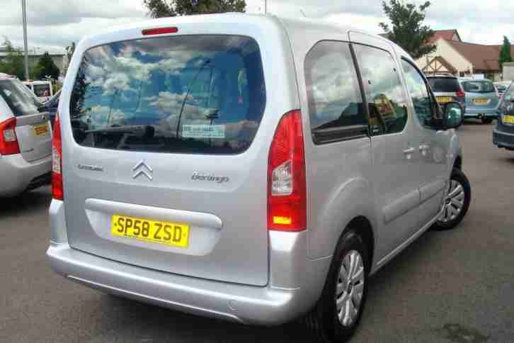 2008 58 CITROEN BERLINGO 1.6 MULTISPACE VTR 16V 5D 90 BHP