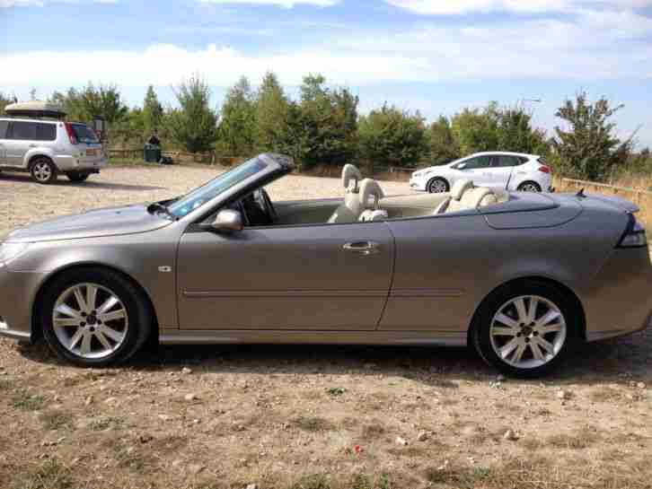 2008 (58) CONVERTIBLE SAAB 9-3 AERO 2.0T 210 BHP TOP OF THE RANGE PETROL AUTO