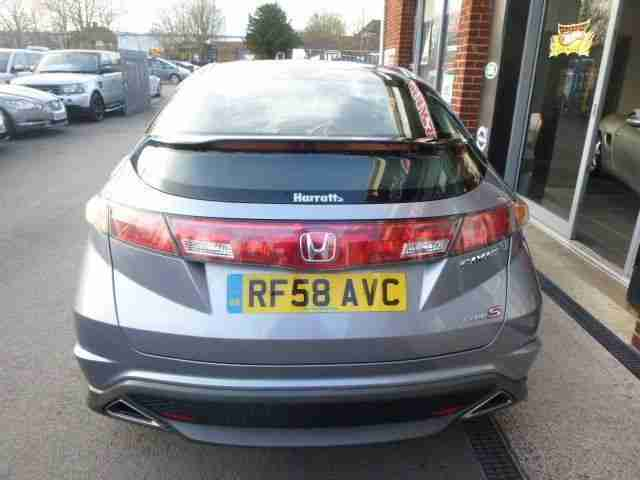 2008 58 HONDA CIVIC 2.2 I-CTDI TYPE-S GT 3D 139 BHP~FINANCE ME FROM £14.59 P/W!!