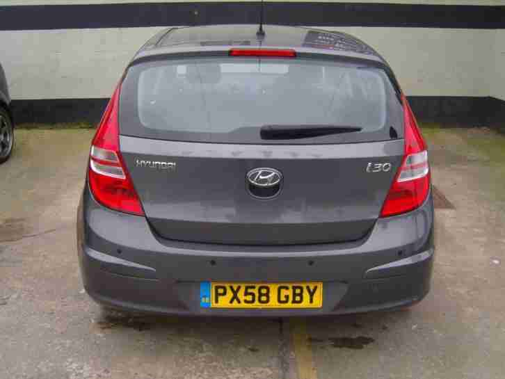 2008/58 HYUNDAI I30 1.4 COMFORT 5 DOOR 59K S/HISTORY FOR SALE