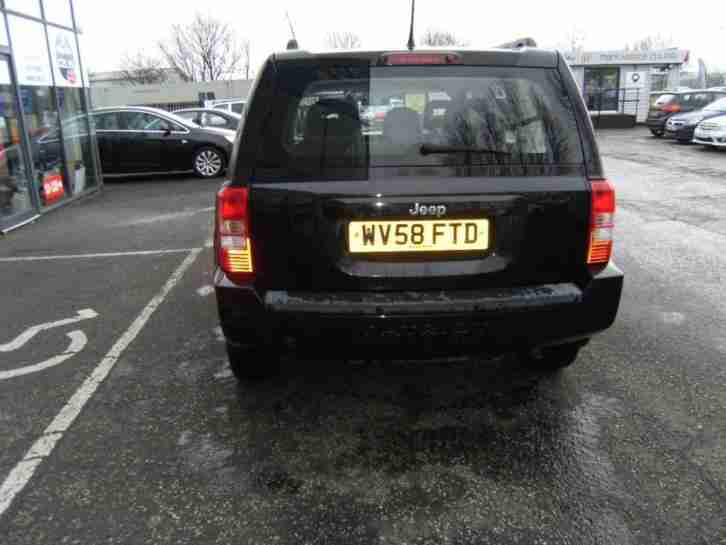 2008 58 JEEP PATRIOT 2.4 SPORT 5D 168 BHP