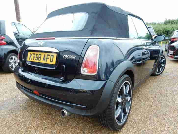 2008 58 Mini 1.6 Cooper Sidewalk Convertible Baseball Leather - RAC DEALER