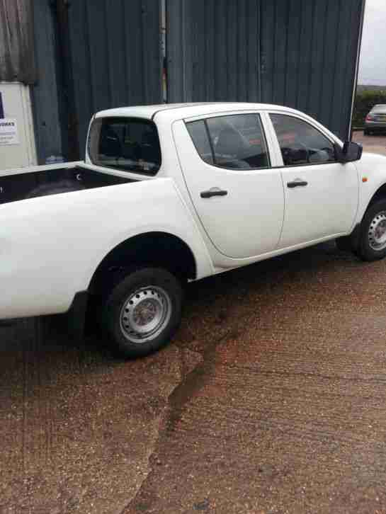2008/58 Mitsubishi L200 DiD 4 Life 4Wd 134 BHP Double Cab Pickup No Vat.