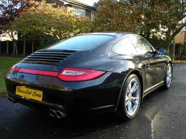 porsche 2008 58 911 997 ii 3 8 c4s coupe black car