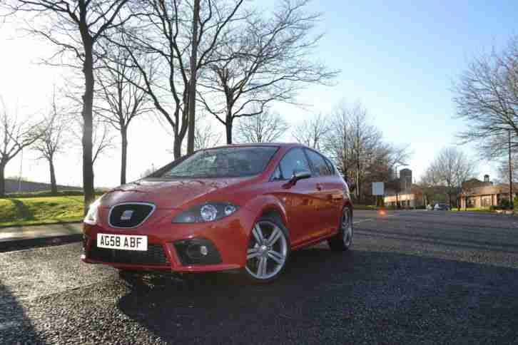 2008 58 SEAT LEON TDI FR RED FULL SERVICE HISTORY flywheel clutch done