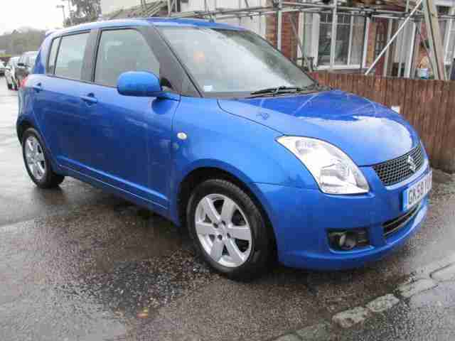 2008 58 Swift 1.5 GLX 5dr Met Blue 79k