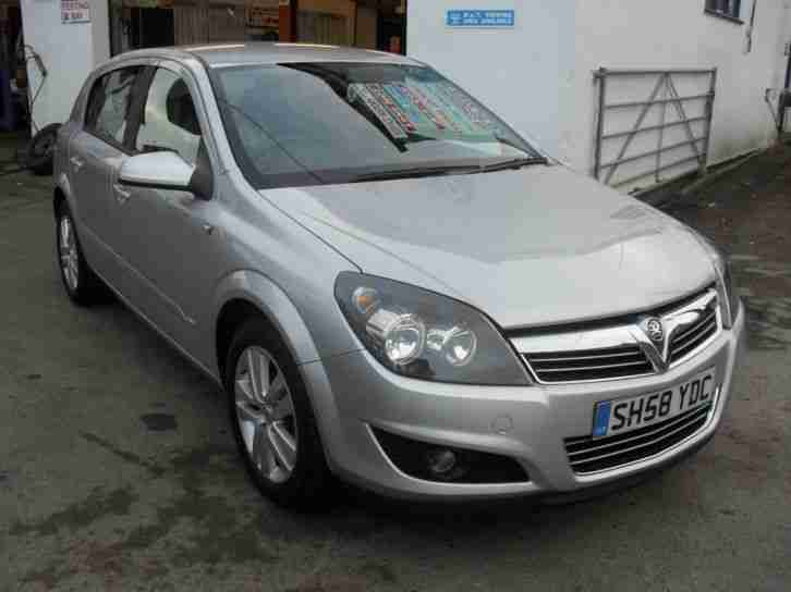 2008 58 vauxhall astra 1 6 16v sxi 5dr car for sale. Black Bedroom Furniture Sets. Home Design Ideas