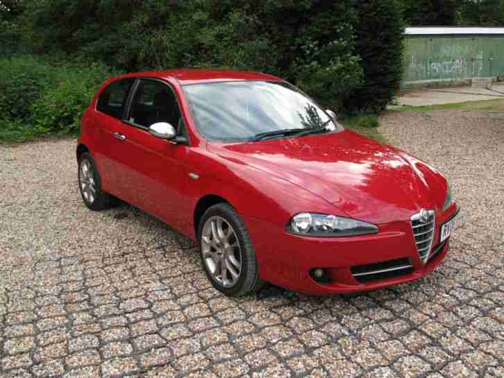 2008 alfa 147 jtd sport 3 door red 1 9 diesel fsh mot march 2017 car for sale. Black Bedroom Furniture Sets. Home Design Ideas