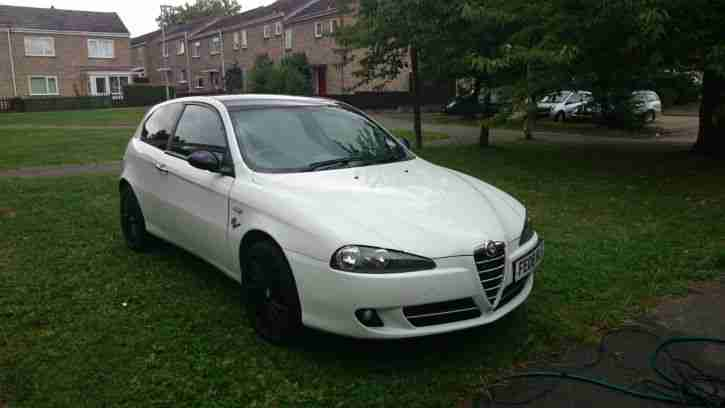 alfa romeo 147 white - photo #18