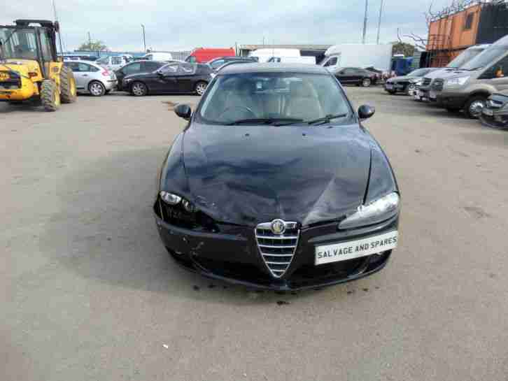 2008 ALFA ROMEO 147 COLLEZIONE TS 1.6 PETROL 5 SPEED DAMAGED REPAIRABLE SALVAGE