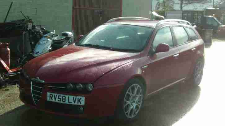2008 159 LUSSO JTDM SPARES OR