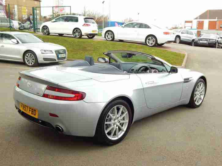 2008 ASTON MARTIN VANTAGE 2dr Sportshift Automatic 2 OWNERS