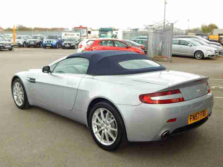 aston martin 2008 vantage 2dr sportshift automatic 2 owners car for sale. Black Bedroom Furniture Sets. Home Design Ideas