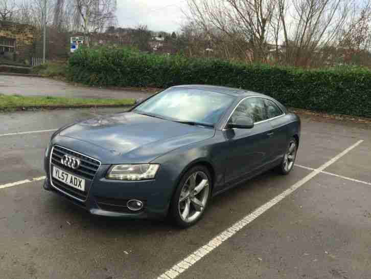 2008 AUDI A5 SPORT 2.7 TDI AUTO AUDI HISTORY (SPARE AND REPAIR) NO RESERVE
