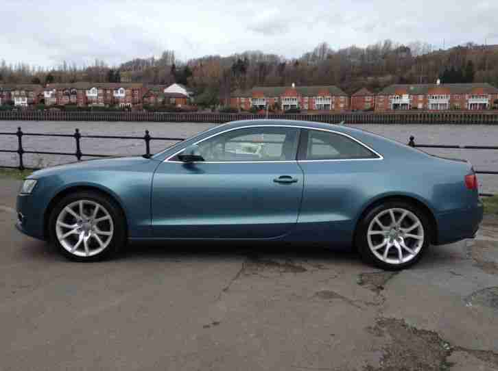 audi 2008 a5 sport 3 0 tdi quattro blue 240 bhp clean and original. Black Bedroom Furniture Sets. Home Design Ideas