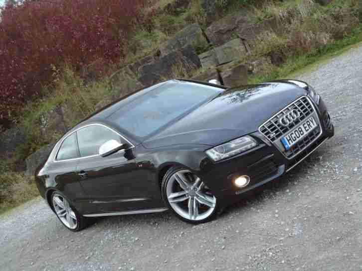 audi 2008 s5 v8 quattro black pan roof bang olufsen car for sale. Black Bedroom Furniture Sets. Home Design Ideas