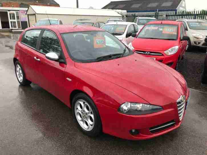 alfa romeo 2008 147 1 9 jtdm 16v sport q2 5dr service history two keys. Black Bedroom Furniture Sets. Home Design Ideas