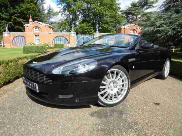 2008 Aston Martin DB9 V12 2dr Volante Touchtronic Automatic Petrol Convertible