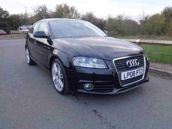 audi 2008 a3 2 0 tdi s line sportback 5dr car for sale. Black Bedroom Furniture Sets. Home Design Ideas