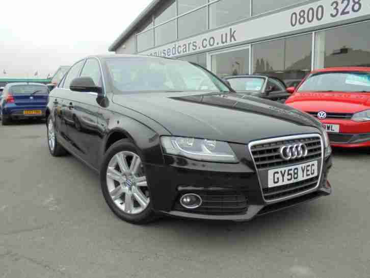 2008 A4 2.0 TDI 143 SE 4dr 4 door Saloon