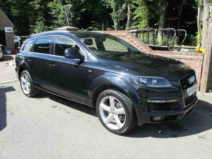 audi 2008 q7 3 0tdi 237bhp tiptronic quattro s line. Black Bedroom Furniture Sets. Home Design Ideas