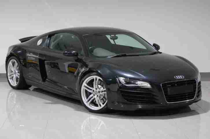 2008 R8 4.2 V8 MANUAL QUATTRO BLACK