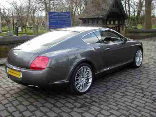 2008 BENTLEY CONTINENTAL GT SPEED 6.0 AUTO 600 BHP +SORRY NOW SOLD+