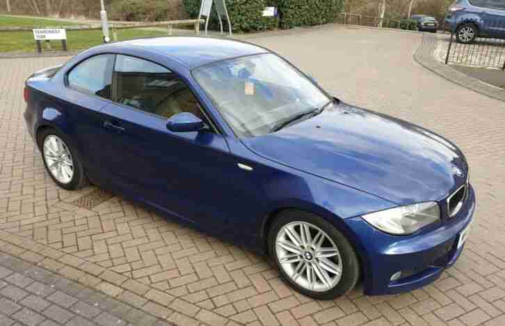 BMW 123d. BMW car from United Kingdom