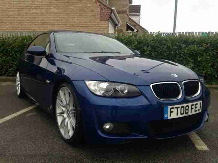 BMW 3. BMW car from United Kingdom