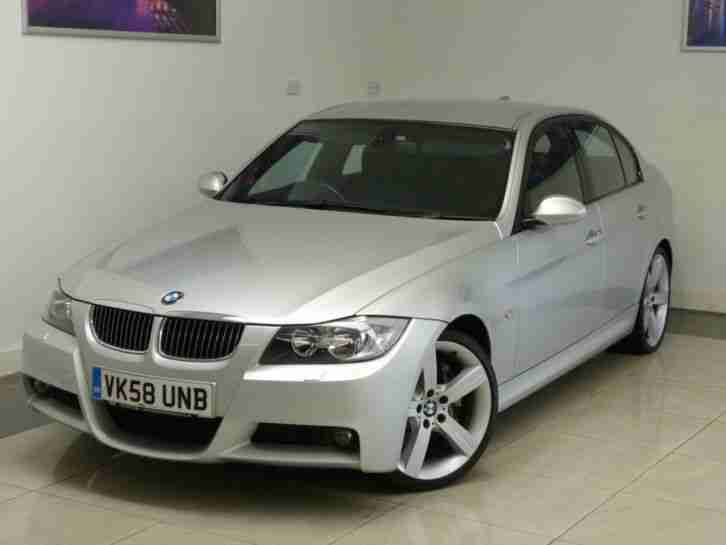 2008 BMW 330D 330D M SPORT + LOW MILES + BIG SPEC + SALOON DIESEL