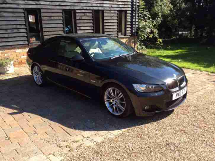 2008 335D M SPORT BLACK coupe