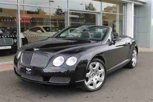 2008 Bentley Continental GTC 6.0 W12 2dr Auto 2 door Convertible