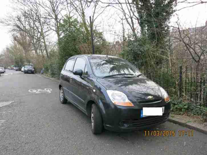 2008 Chevrolet Matiz Se Plus Black Car For Sale