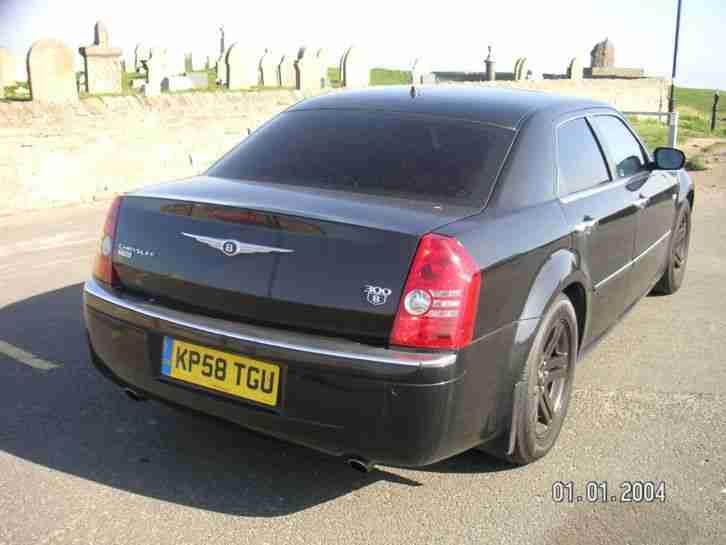 Chrysler 2008 300c crd black car for sale for Chrysler 300c crd