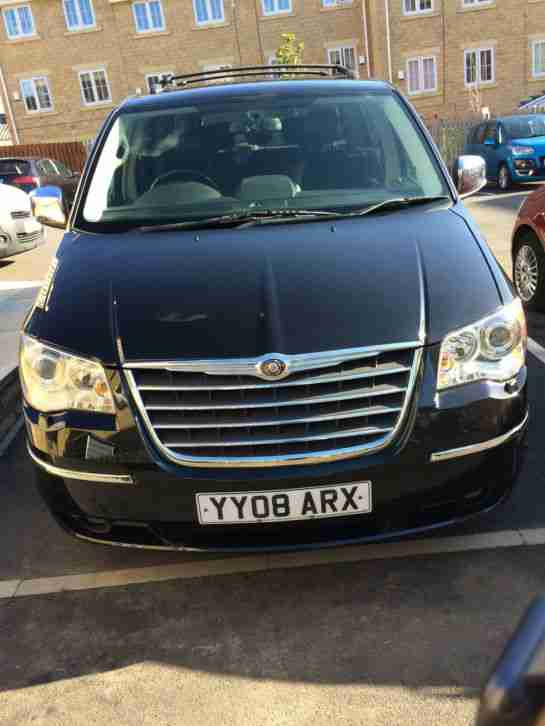 2008 CHRYSLER GR-VOYAGER LTD CRD 160 A BLACK