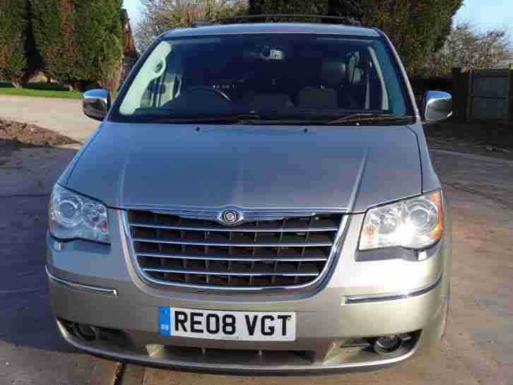 2008 CHRYSLER GRAND VOYAGER 2.8 CRD 7 SEATER 84K