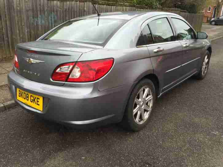 2008 CHRYSLER SEBRING LIMITED 2L PETROL 1 OWNER FROM NEW