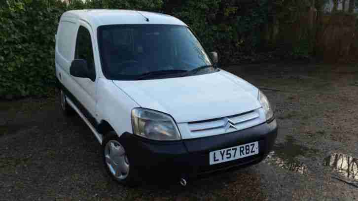 2008 CITROEN BERLINGO LX WHITE