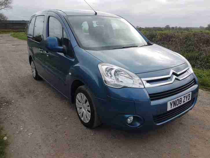 2008 CITROEN BERLINGO M SP VTR HDI 90 BLUE