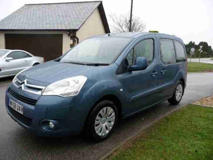 2008 CITROEN BERLINGO MULTISPACE 1.6 HDi 90 VTR