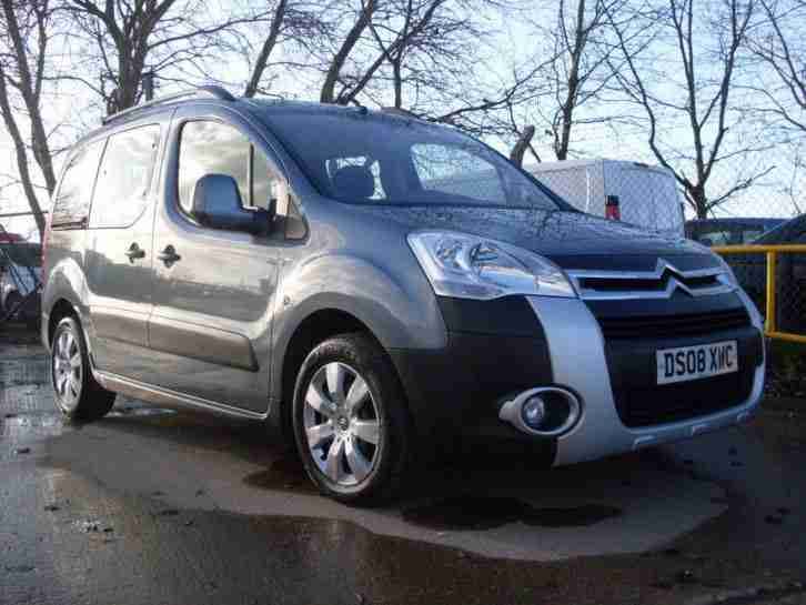 citroen 2008 berlingo multispace xtr 1 6 hdi 90 grey new model 2 car for sale. Black Bedroom Furniture Sets. Home Design Ideas