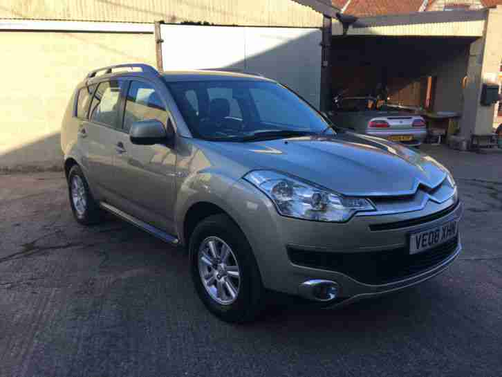 2008 CITROEN C CROSSER VTR+ HDI, 114K, FSH, MEGA VALUE