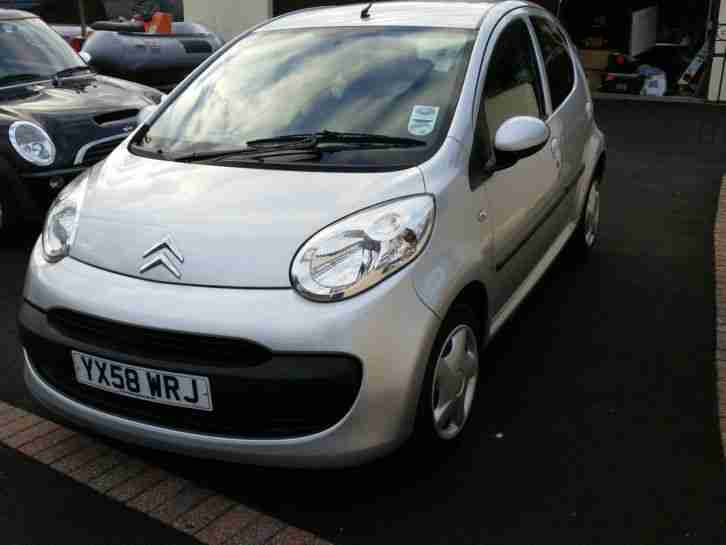 2008 CITROEN C1 RHYTHM GREY